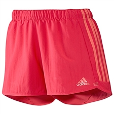 Adidas Women's Speed Kick Shorts (Joy Bright Coral)