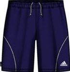 Adidas Youth Equipo Soccer Shorts (Navy/White)