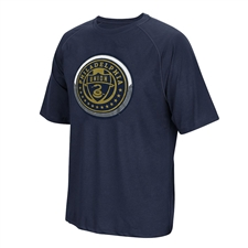 Adidas MLS Philadelphia Union Light Up Tee Shirt (Navy)