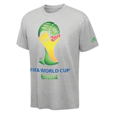 Adidas FIFA World Cup Brasil 2014 Shirt (Grey)