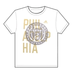 Adidas MLS Philadelphia Union Bleed Through Tee (White)