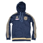 Adidas MLS Philadelphia Union Pullover Travel Hoodie (Navy)