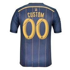 Adidas MLS Philadelphia Union 2015 Primary 'CUSTOM' Authentic Soccer Jersey