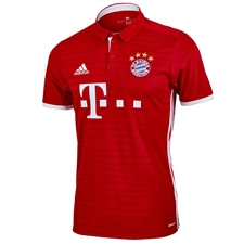 Adidas Bayern Munich Home '16-'17 Soccer Jersey (Red)