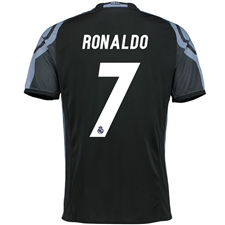 Adidas Real Madrid 'RONALDO 7' Third '16-'17 Soccer Jersey (Black/Purple)