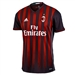 Adidas Youth AC Milan Home '16-'17 Replica Soccer Jersey (Black/Red)