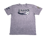 Adidas MLS Philadelphia Union 2013 Mid Sweeper Super Soft SS Tee (Grey)