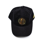Adidas MLS Philadelphia Women's Gold Foil Adjustable Slouch Hat (Black/Gold)