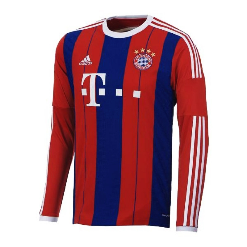 sale adidas bayern munich home 39 14 39 15 long. Black Bedroom Furniture Sets. Home Design Ideas