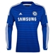 Adidas Chelsea Home '14-'15 Long Sleeve Replica Soccer Jersey (Chelsea Blue/Core Blue/White)