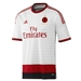 Adidas AC Milan 2014-2015 Away Replica Soccer Jersey (White/Victory Red)