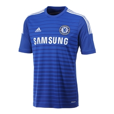 Adidas Chelsea Home '14-'15 Replica Soccer Jersey (Chelsea Blue/Core Blue/White)