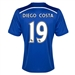 Adidas Chelsea 'DIEGO COSTA 19' Home '14-'15 Replica Soccer Jersey (Chelsea Blue/Core Blue/White)