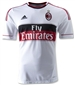 Adidas AC Milan Away 2012-2013 Replica Soccer Jersey (White/Red)