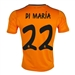 Adidas Real Madrid 'DI MARIA 22' Third '13-'14 Replica Soccer Jersey (Light Orange/Dark Shale)