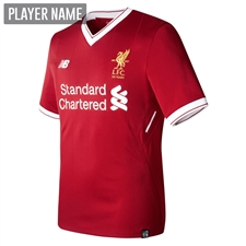 New Balance Liverpool Home '17-'18 Replica Soccer Jersey (Red)