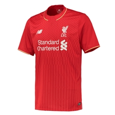 New Balance Liverpool Home '15-'16 Replica Soccer Jersey (Red)