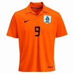 Nike Netherland (Holland) Nistelrooy Home '06 Replica Jersey (Orange)
