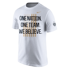 Nike USA Women's World Cup Victory Tour Men's T-shirt (White)