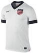 Nike USA Centennial 2013 Home Replica Soccer Jersey (Football White)