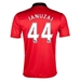 Nike Manchester United 'JANUZAJ 44' Home 2013-2014 Replica Soccer Jersey (Diablo Red/White/Black)