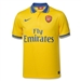 Nike Arsenal Away '13-'14 Replica Soccer Jersey (Midwest Gold)