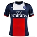 Nike Paris St. Germain  Home '13-'14 Replica Soccer Jersey (Navy/White/Red)