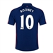 Nike Manchester United 'ROONEY 10' Third '14-'15 Replica Soccer Jersey (Old Royal/Loyal Blue/Crimson)