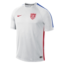 Nike USA Squad Training Top (White/Game Royal/University Red)