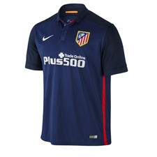 Nike Atletico Madrid Away '15-'16 Soccer Jersey (Midnight Navy/White)