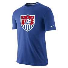 Nike USA Core Crest Tee Shirt (Royal Blue)