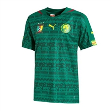 Puma Cameroon Home 2014 Replica Soccer Jersey (Power Green)