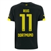 Puma Borussia Dortmund 'REUS 11' '14-'15 Away Replica Soccer Jersey (Black/Yellow)