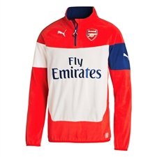 Puma Arsenal Fleece Top (High Risk Red/Estate Blue/Grey/White)