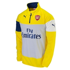 Puma Arsenal Fleece Top (Empire Yellow/Estate Blue/Grey/White)