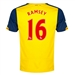 Puma Arsenal 'RAMSEY 16' Away '14-'15 Replica Soccer Jersey (Empire Yellow/Estate Blue)