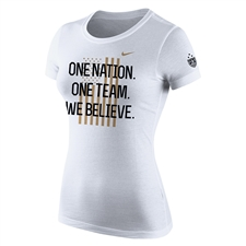 Nike USA Women's World Cup Victory Tour Women's T-shirt (White)