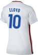Nike Women's USA 2016 OLYMPIC RIO 'LLOYD 10' Soccer Jersey (White/Royal/Red)