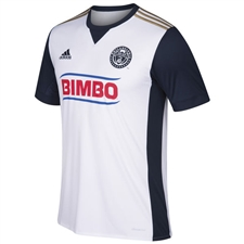 Adidas MLS Philadelphia Union Youth 2017 Secondary Replica Soccer Jersey