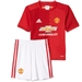 Adidas Manchester United Home '16-'17 Little Kids Mini Kit (Real Red/University Red/White)