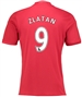 "Adidas Youth Manchester United ""ZLATAN 9"" Home '16-'17 Soccer Jersey"