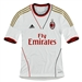 Adidas Youth AC Milan Away 2013-2014 Replica Jersey (White/Red)