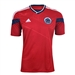 Adidas Colombia Youth Away 2014 Replica Soccer Jersey (Power Red/White)