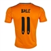 Adidas Real Madrid Youth 'BALE 11' Third '13-'14 Replica Soccer Jersey (Light Orange/Dark Shale)