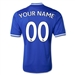 Adidas Chelsea 'YOUR NAME' Home Youth '13-'14 Replica Soccer Jersey (Blue/Gold)