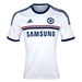 Adidas Chelsea Away Youth '13-'14 Replica Soccer Jersey (White/Reflex Blue)