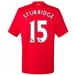 New Balance Youth Liverpool 'STURRIDGE 15' Home '16-'17 Replica Soccer Jersey (Red)