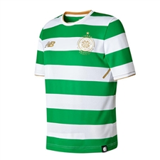 New Balance Celtic '17-'18 Youth Home Replica Jersey (Green/White)