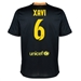 Nike FC Barcelona 'XAVI 6' Third '13-'14 Youth Replica Soccer Jersey (Black/Vibrant Yellow/University Red/Vibrant Yellow)