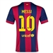Nike FC Barcelona 'MESSI 10' Home '14-'15 Youth  Replica Soccer Jersey (Loyal Blue/Noble Red/Sunlight)